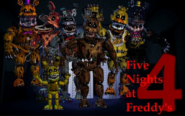 Five Nights At Freddy's - Scariest game ever